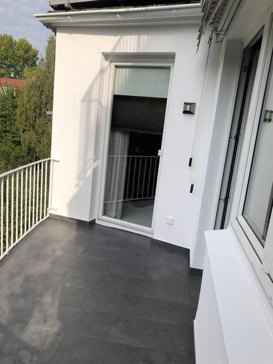 sanierter Balkon, neuer Belag