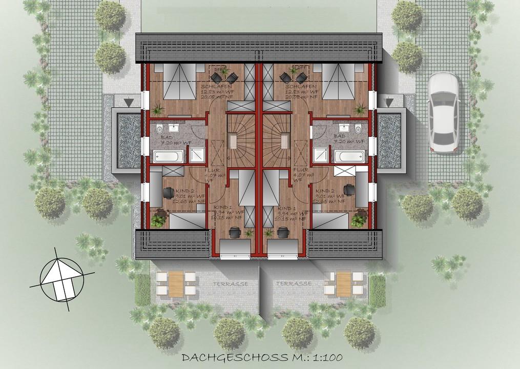 geplantes Dachgeschoss