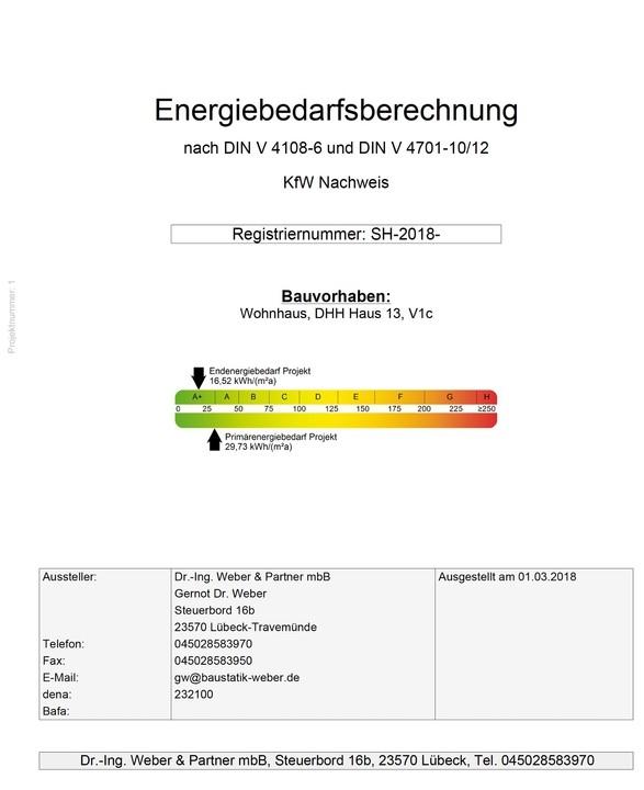 Energie Deckblatt