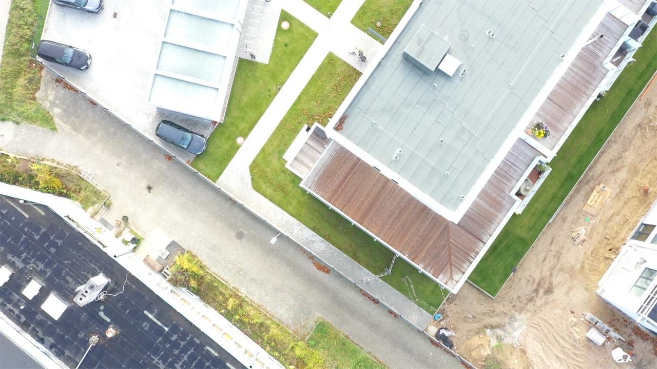 Große Dachterrasse Luftbild