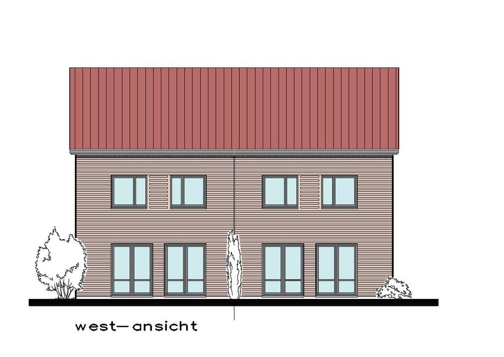 West / Terrassenansicht