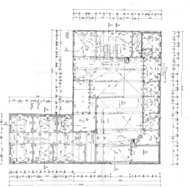 Grundriss Erdgeschoss komplet