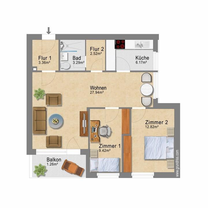 Wohnung Nr. 7