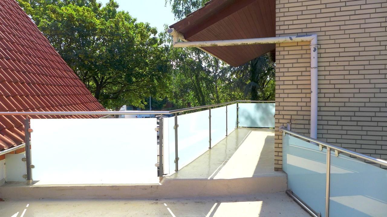 Dachterrasse nach Vorne