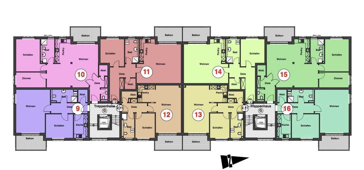 2. BA Obergeschoss
